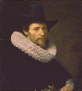 Nicolas Eliasz: Bildnis eines Mannes mit schwarzem Hut