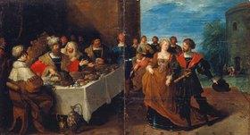 Frans Francken II.: Das Festmahl des Herodes