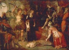 Frans Francken II.: Das Urteil des Salomon