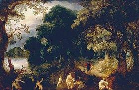 Abraham Govaerts: Diana und Aktaeon