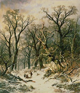 Remi (Remy) van Haanen: Winterlicher Wald