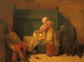 Pieter de Hooch: Der Morgen eines jungen Mannes