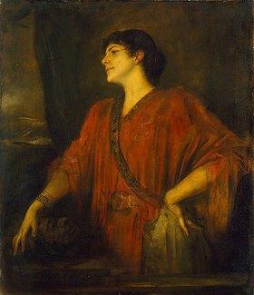 Franz von Lenbach: Frau von Stuck als Salome