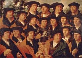 Dirck Jacobsz.: Gruppenbild der Schützengilde von Amsterdam