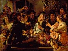 Jacob Jordaens: Der Bohnenkönig