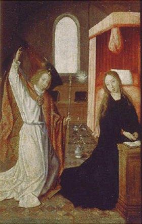Meister von Hoogstraeten: Verkündigung Mariae