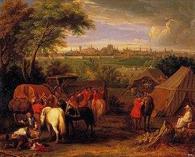 Adam Frans van der Meulen: Bei der Belagerung einer Stadt