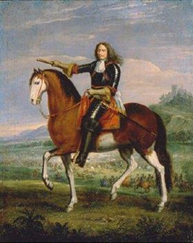 Adam Frans van der Meulen: Marschall Turenne zu Pferde