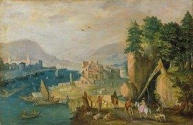 Antonis Mirou: Stadt in den Bergen