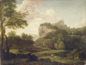 Isaak de Moucheron: Landschaft
