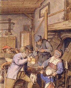 Adriaen van Ostade: In einer Taverne