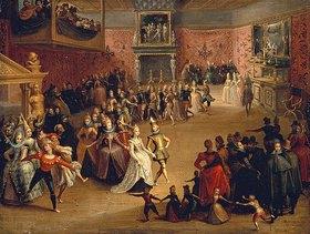 Marten Pepyn: Höfischer Tanz bei einem Hochzeitsfest