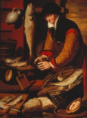 Pieter Pietersz: Die Fischersfrau