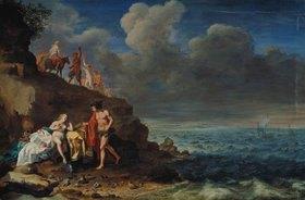 Cornelis Poelenburgh: Bacchus und Ariadne auf der Insel Naxos