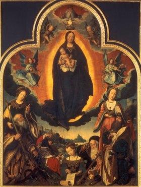 Jan Provost: Die Madonna in der Glorie