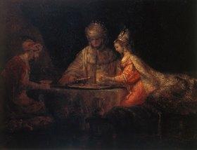 Rembrandt van Rijn: Ahasver, Haman und Esther