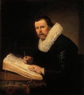Rembrandt van Rijn: Bildnis eines Gelehrten