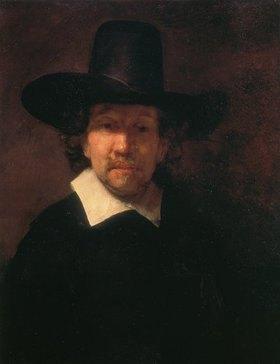Rembrandt van Rijn: Bildnis von Jeremias de Decker (1610-66)