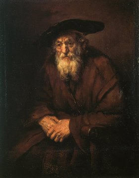 Rembrandt van Rijn: Bildnis eines alten Juden