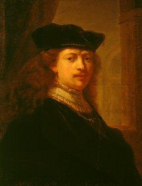 Rembrandt van Rijn: Bildnis Rembrandt van Rijn