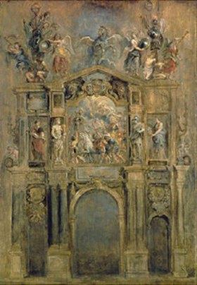 Peter Paul Rubens: Triumphbogen anlässlich des Sieges von König Ferdinand bei Nördlingen