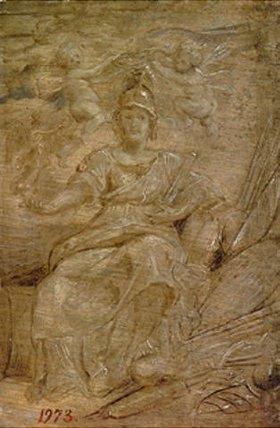 Peter Paul Rubens: Maria de Medici als Athene, die Göttin der Weisheit und des Krieges