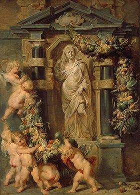 Peter Paul Rubens: Ceres, Bildnis