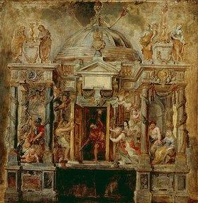 Peter Paul Rubens: Der Janus-Tempel. 1630er Jahre