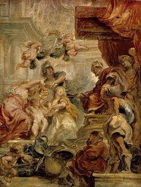 Peter Paul Rubens: Allegorie auf die Vereinigung Großbritanniens