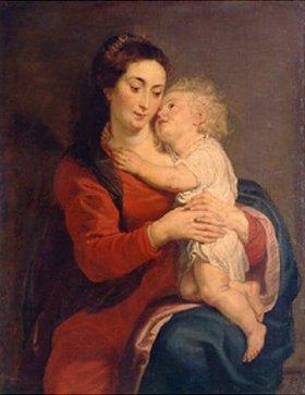 Peter Paul Rubens: Maria mit dem Jesuskind