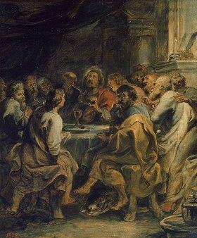 Peter Paul Rubens: Das letzte Abendmahl