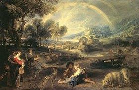 Peter Paul Rubens: Landschaft mit Regenbogen