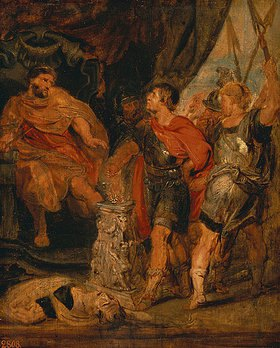 Peter Paul Rubens: Mucius Scaevola vor Porsenn