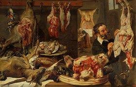 Frans Snyders: Ein Fleischerladen. 1630er Jahre