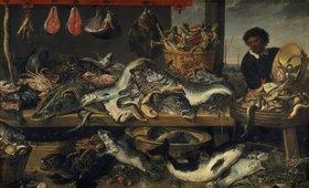 Frans Snyders: Der Fischverkäufer