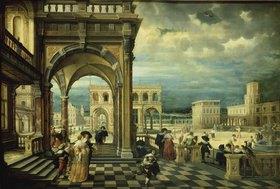 Hendrick Steenwijk: Italienische Palastarchitektur