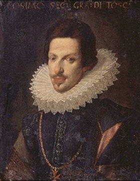 Justus Sustermans: Bildnis von Cosimo de' Medici, Herzog der Toskana (1590-1621)