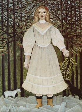 Henri Rousseau: Das junge Mädchen