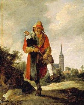 David Teniers: Ein Narr. 1640er Jahre