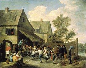 David Teniers: Kirmes-Tanz vor dem Wirtshaus