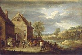 David Teniers: Bauern beim Boulespiel