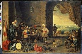 David Teniers: Eine Wachtstube