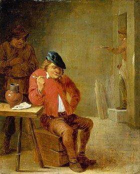 David Teniers: Ein Raucher