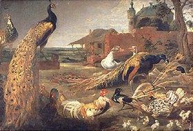 Paul de Vos: Eine Krähe in Pfauenfedern