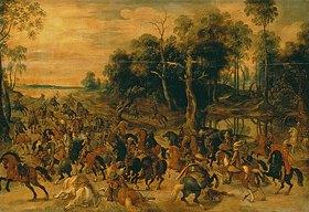 Sebastian Vrancx: Kavallerie-Angriff