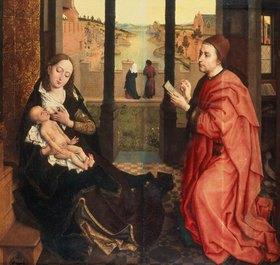 Rogier van der Weyden: Der Hl. Lukas malt die Madonna