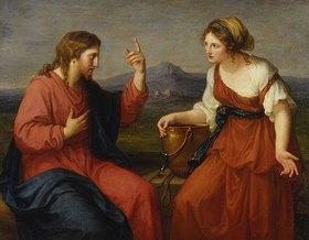 Angelika Kauffmann: Christus und die Samariterin am Brunnen