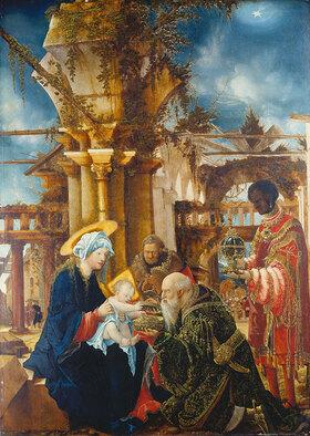 Albrecht Altdorfer: Die Anbetung der Könige