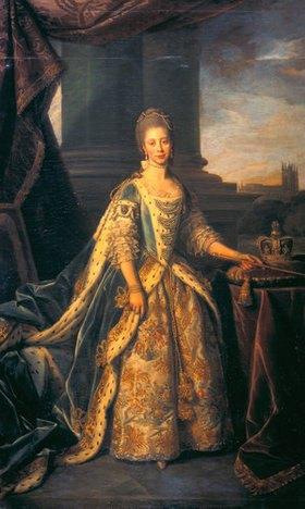 Dance (Sir Dance Holland): Prinzessin Sophie-Charlotte, Gemahlin König Georgs III, Bildnis