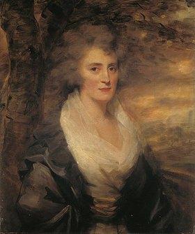 Sir Henry Raeburn: Bildnis der Mrs. Elinor Bethune. 1790-er Jahre